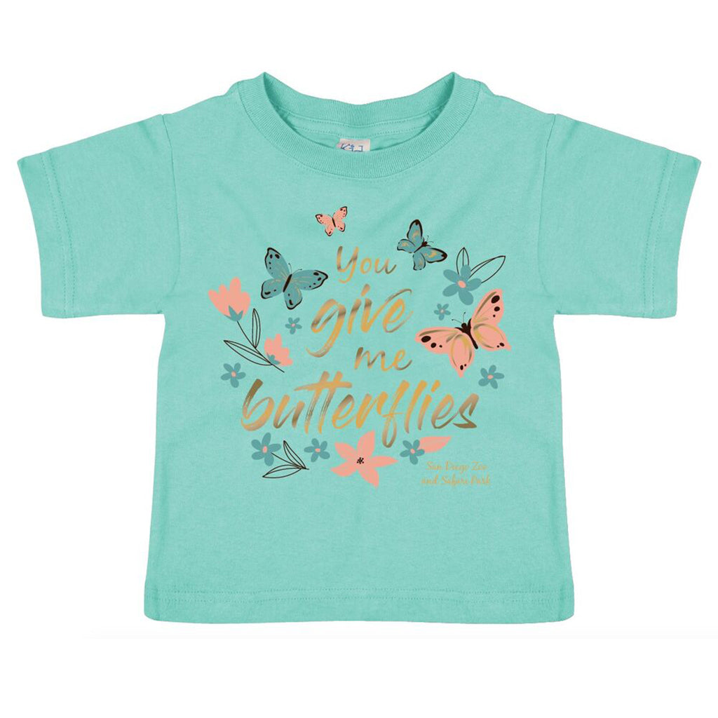 You Give Me Butterflies Toddler Tee