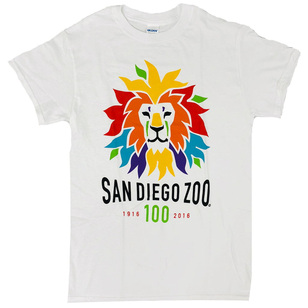 Colorful Lion Adult Tee