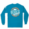 Long Sleeve Polar Bear Throwback Tee