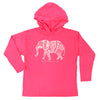 Girls Elephant Hooded Tee
