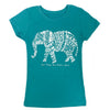 Girls Sparkling Elephant Tee