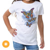 Mother Daughter - Butterfly Wings Color Change Girls T-shirt