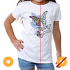 Butterfly Wings Color Change Girls T-shirt