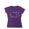 Girls Hippo T-shirt
