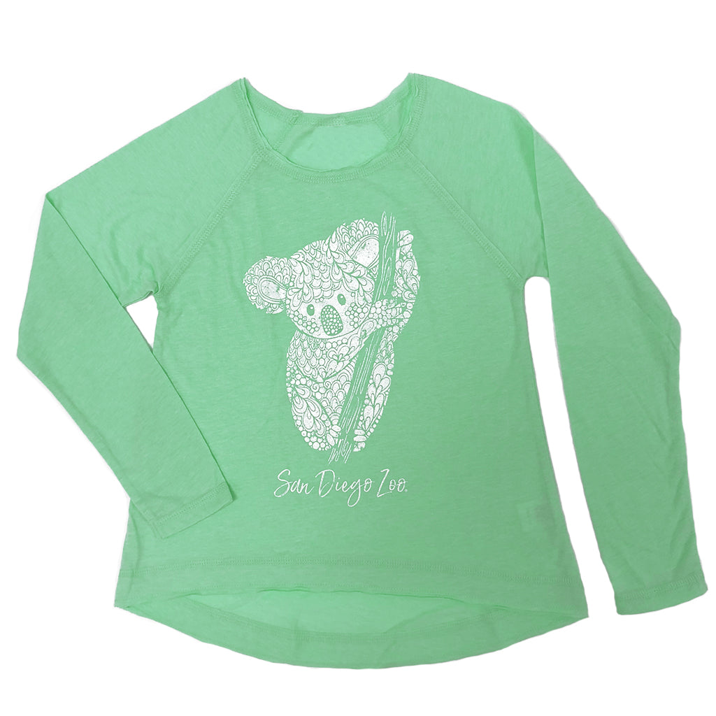 Koala Motif Girls T-Shirt