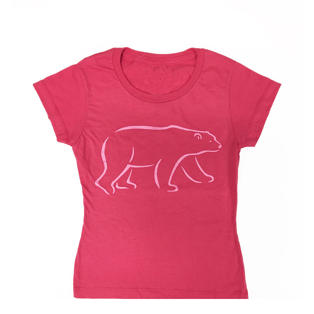 Girls Polar Bear T-shirt