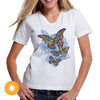 Mother Daughter - Butterfly Wings Color Change Ladies T-shirt