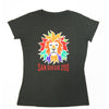 Ladies Colorful Lion Head T-Shirt