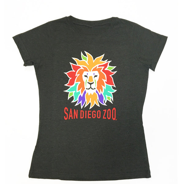 Ladies Colorful Lion T-Shirt
