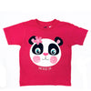 Perfectly Pink Panda Toddler Tee