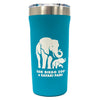 Elephant with Calf Insulated Tumbler