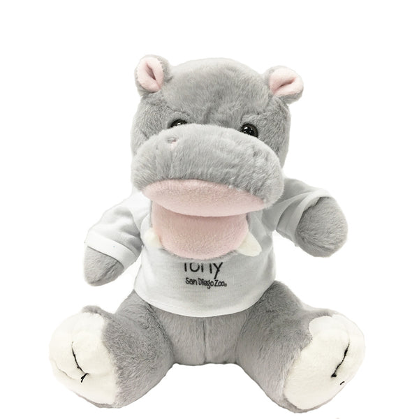 Tony The Hippo Plush