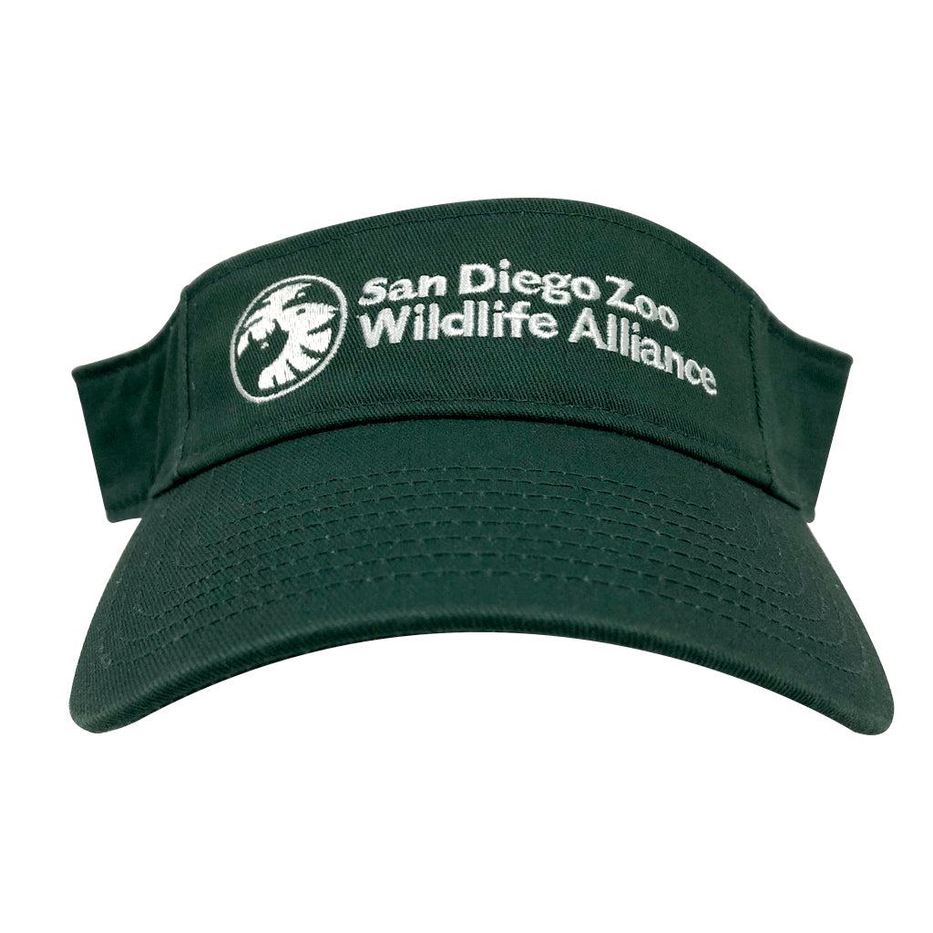 San Diego Zoo Wildlife Alliance Visor - Green