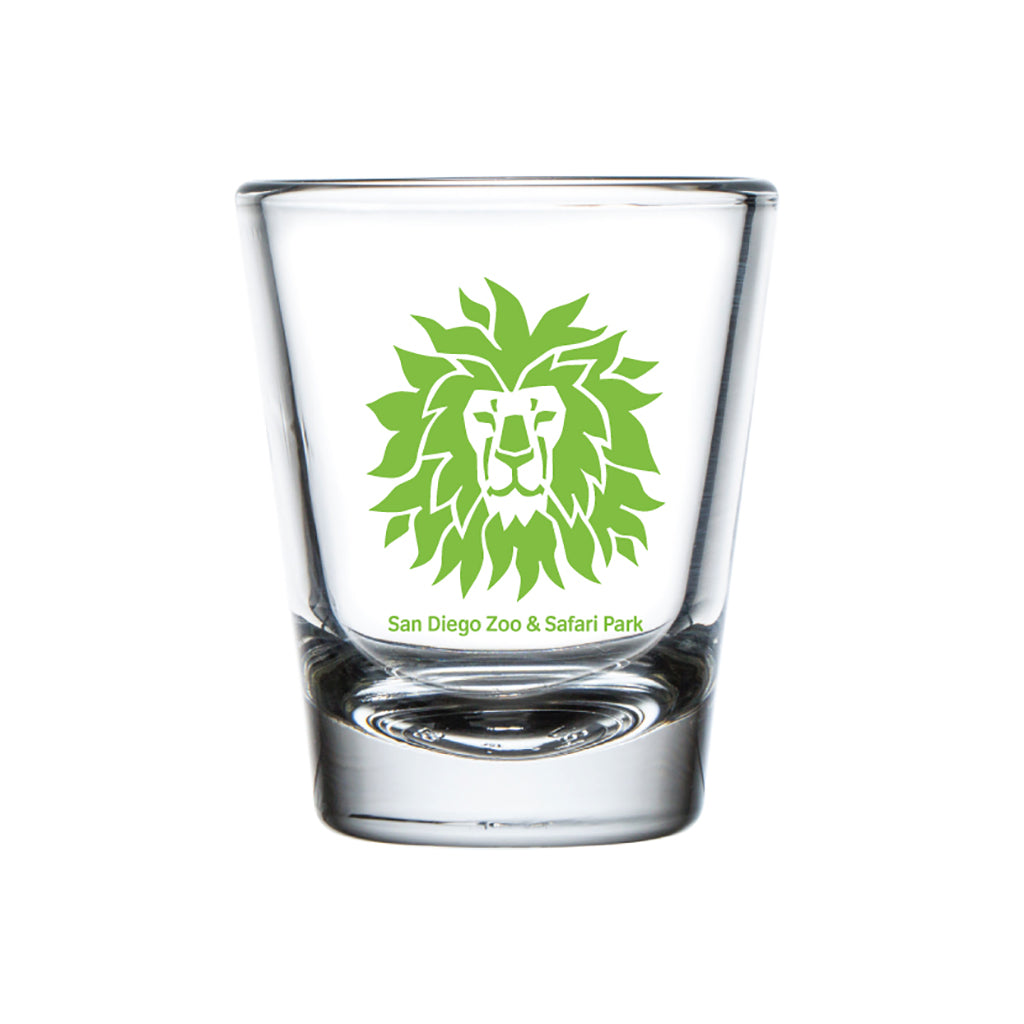 Lion Head Shot Glass-Lime