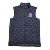 Colorful Lion Head Quilted Vest