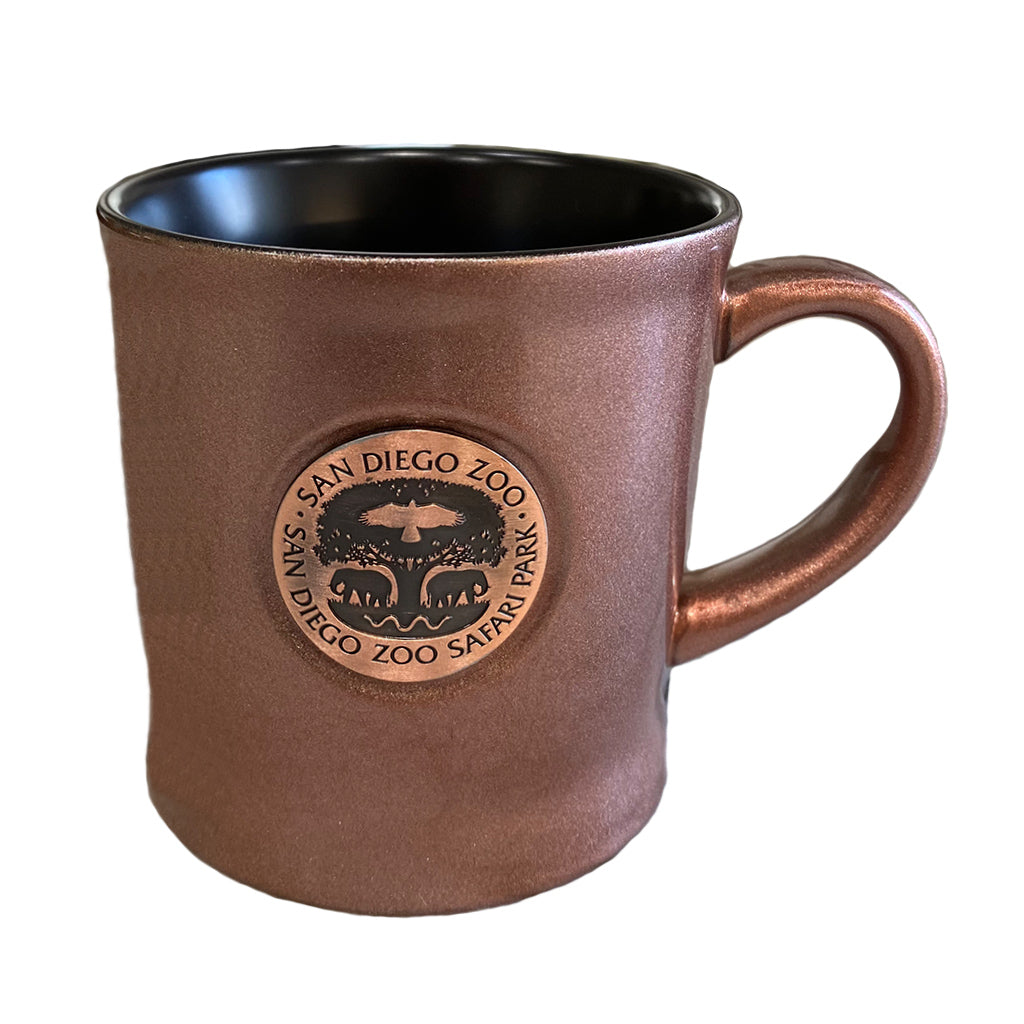 Tree of Life Copper Medallion Mug