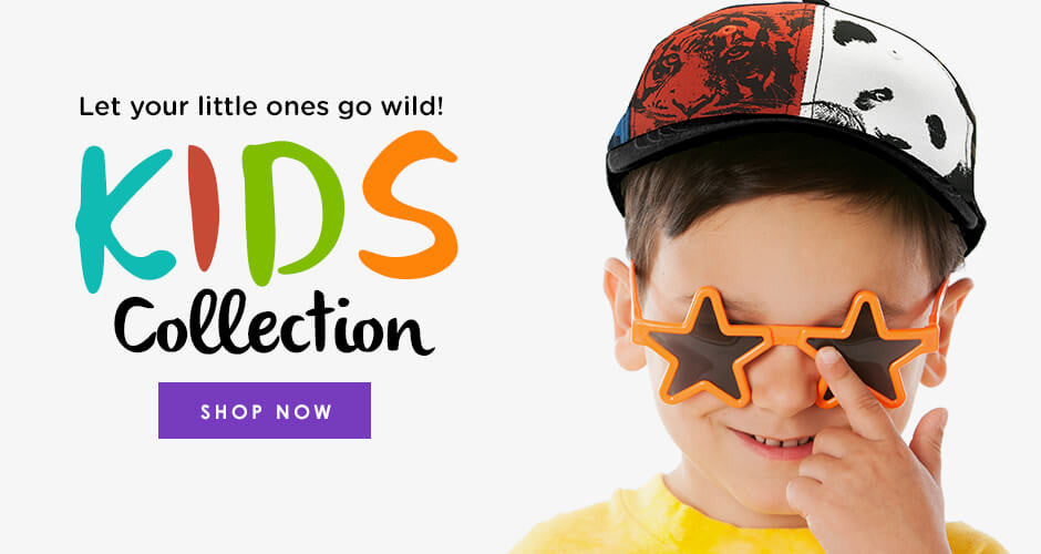 Let your little ones go wild!  Kids Collection.  Shop Now