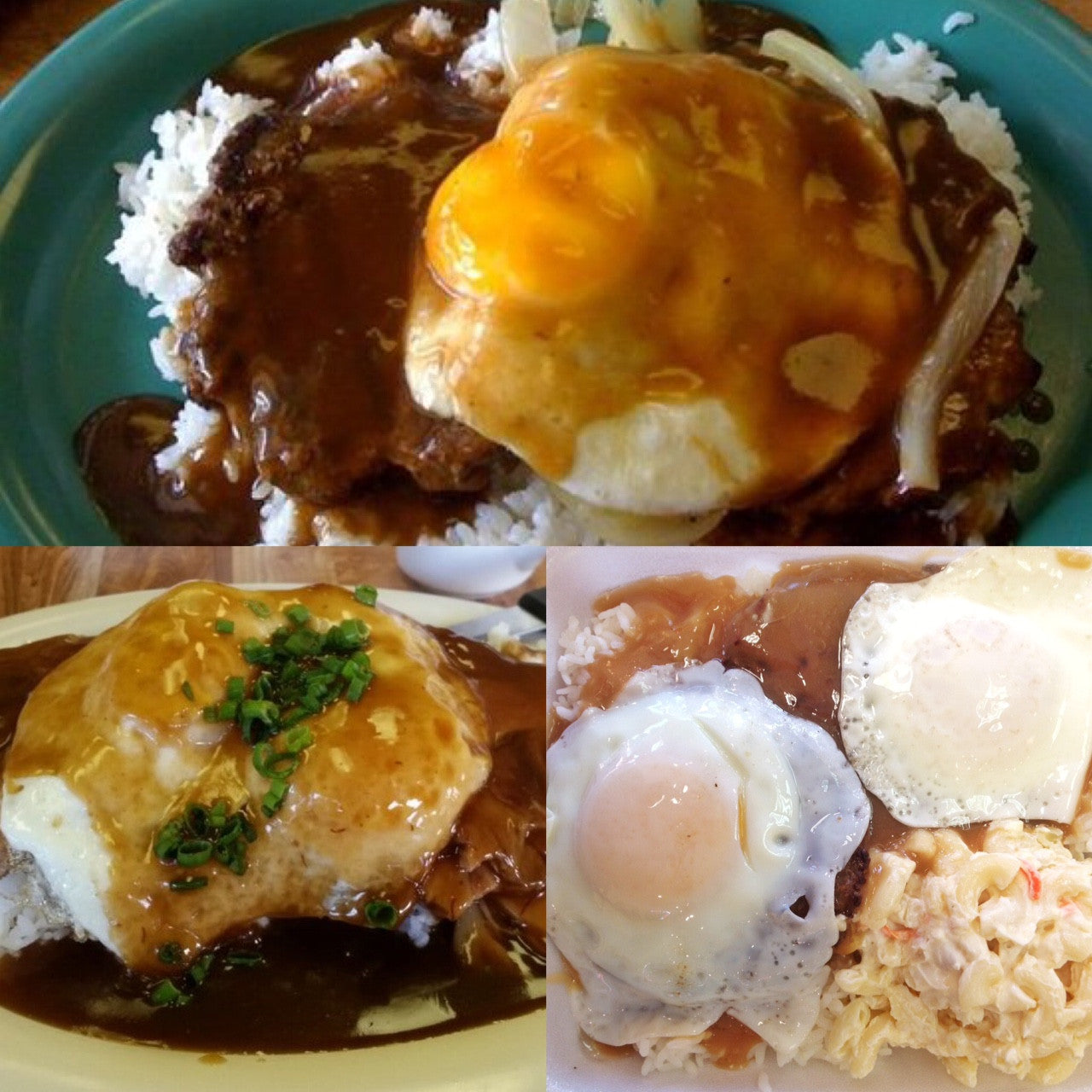 Hawaiian Loco Moco - The Crazy Booger