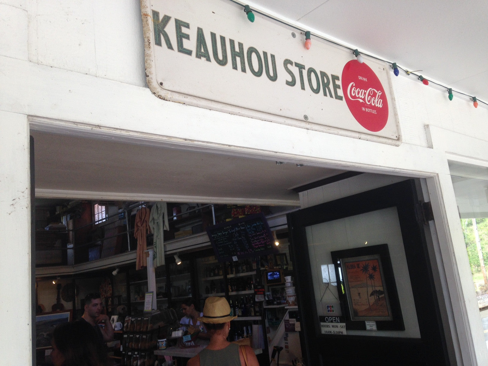 The Keauhou Store - A Little Slice of History