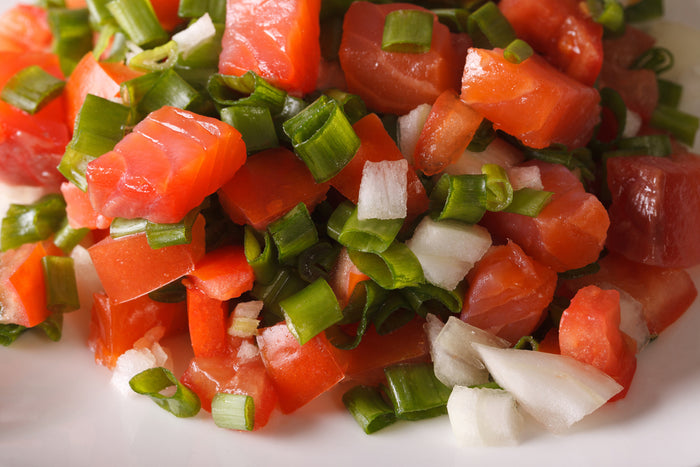 Hawaiian Lomi Lomi Salmon Recipe