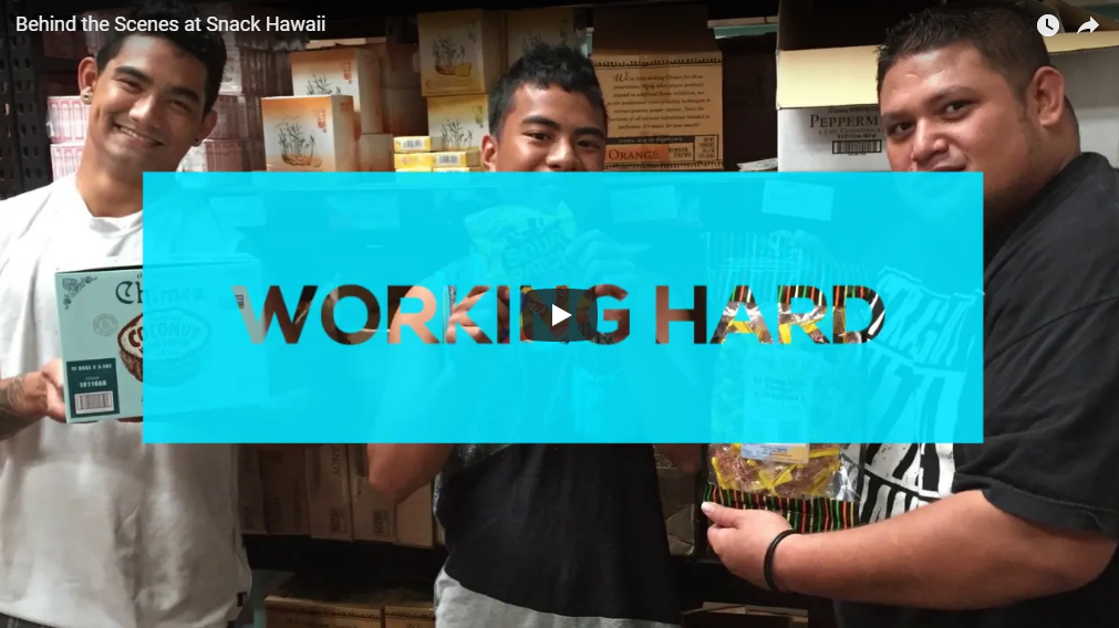 Behind the Scenes at Snack Hawaii