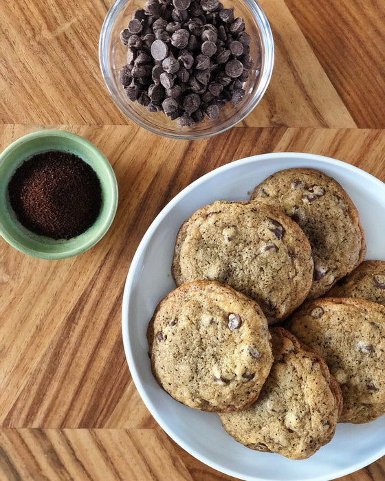 Kona Coffee Chocolate Chip Cookies Recipe