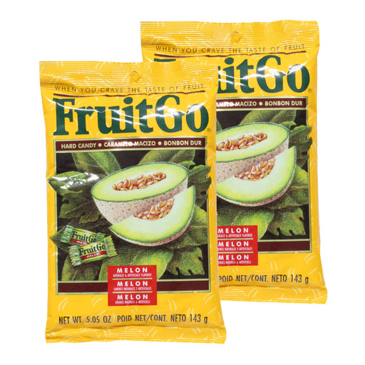 Fruit Go Melon Candy - 5 oz