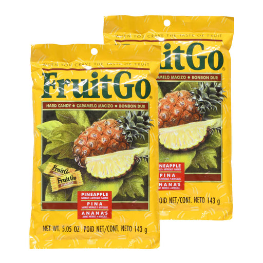 Fruit Go Pineapple Candy - 5 oz