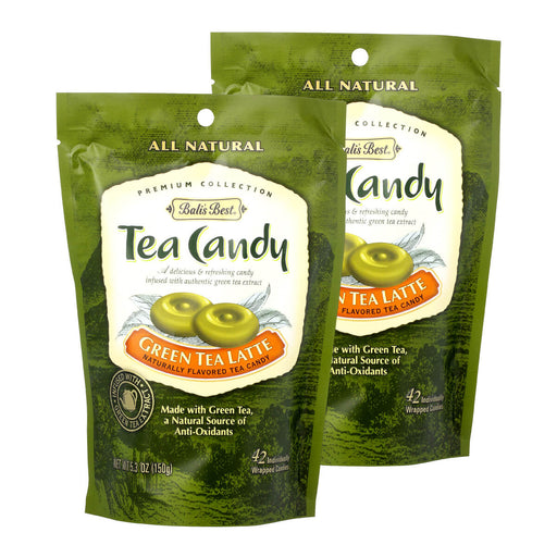 Bali's Best Green Tea Latte Candy - 2 pack
