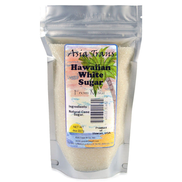 Hawaiian-white-cane-sugar-8-oz-bag