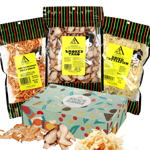 Dried Cuttlefish 3 Pound Gift Set