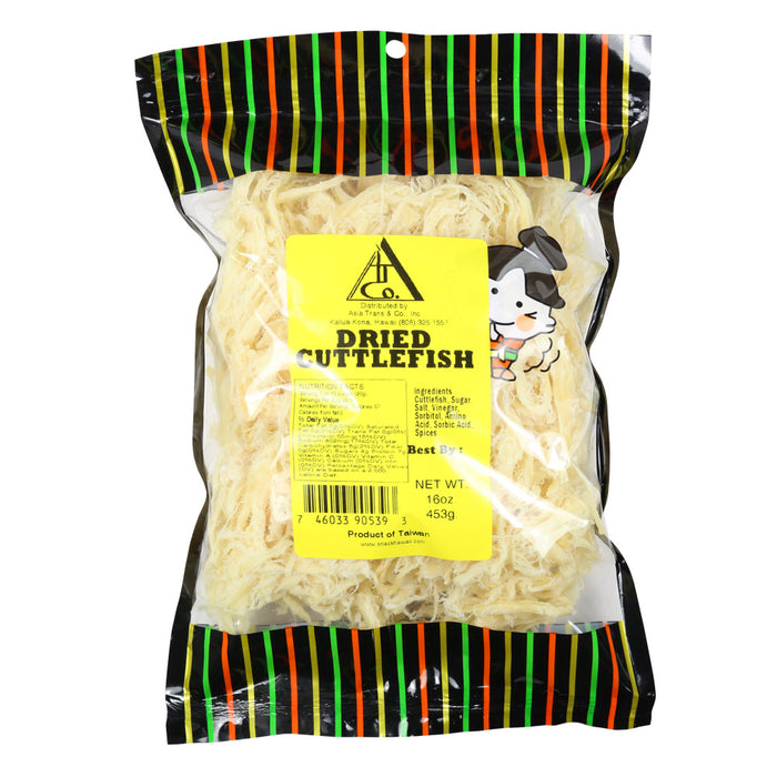 Dried Shredded Cuttlefish Ika 16 oz bag