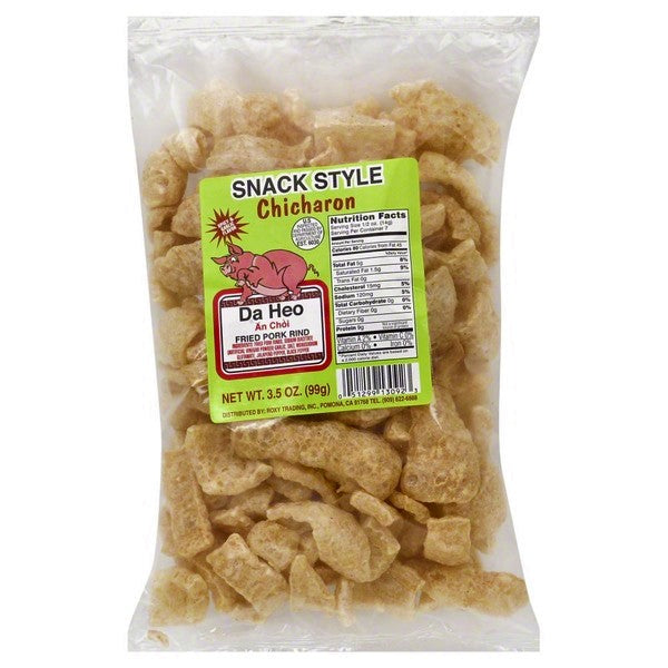 Da Heo Chicharon Spicy & Garlic Fried Pork Rind