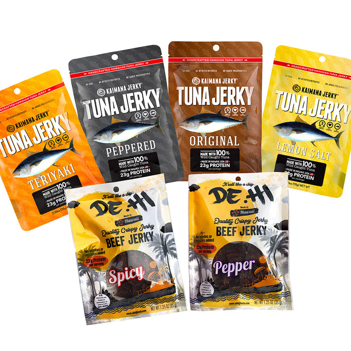 The Ultimate Made in Hawaii Jerky Variety Gift Set