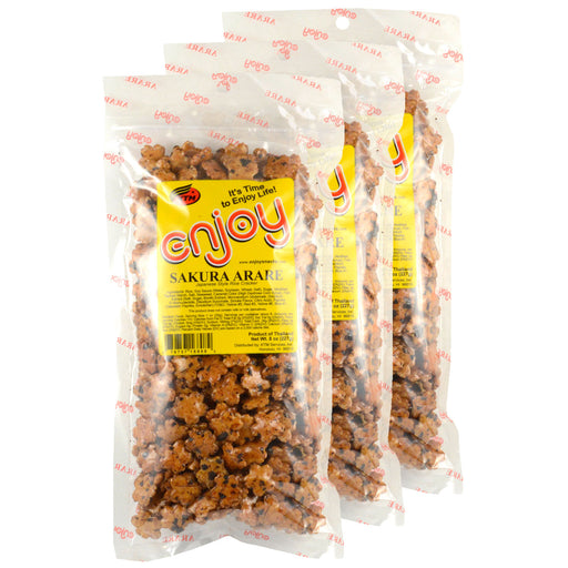 Enjoy Sakura Arare 8 oz - 3 Pack