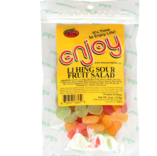 Enjoy Li Hing Sour Fruit Salad