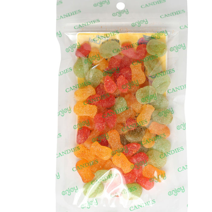 Enjoy Li Hing Sour Fruit Salad - back of bag