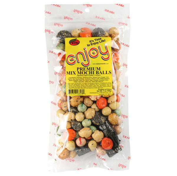 Enjoy Premium Mix Mochi Balls - 7 oz