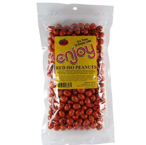 Enjoy Red Iso Peanuts - 8 oz