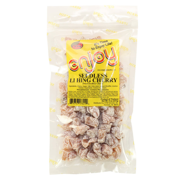 Enjoy Seedless Li Hing Cherry -8 oz bag
