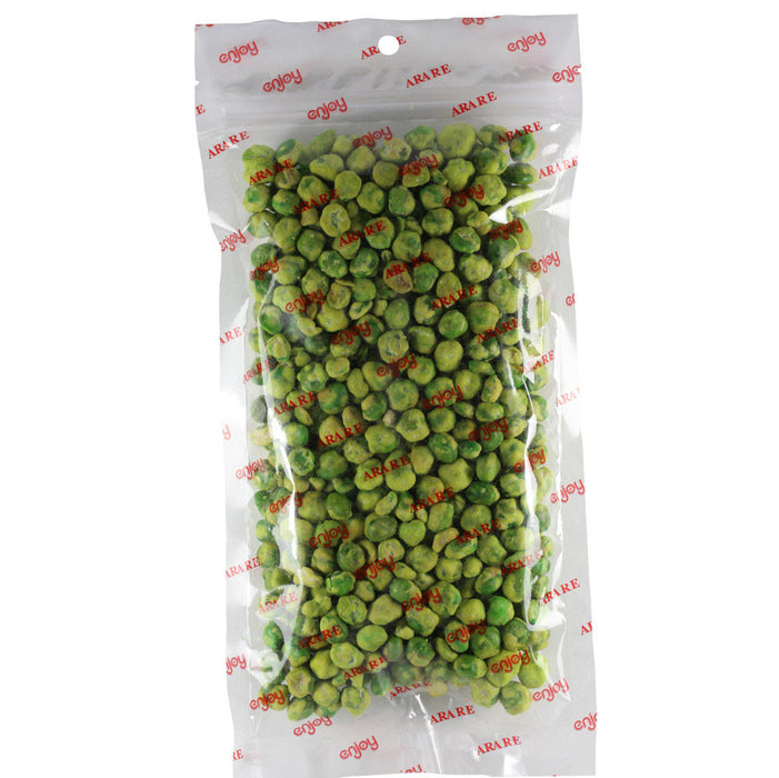 Enjoy Wasabi Peas - 8 oz back of bag