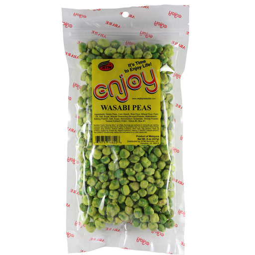 Enjoy Wasabi Peas - 8 oz