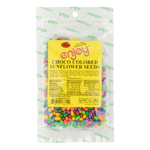 Enjoy Choco Colored Sunflower Seeds - 3 oz