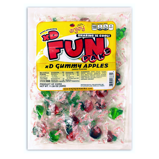 Gummy Apples - Individual Fun Paks