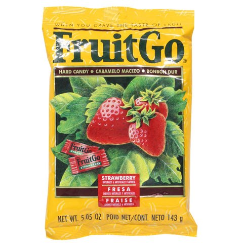 Fruit Go Strawberry Candy - 5oz