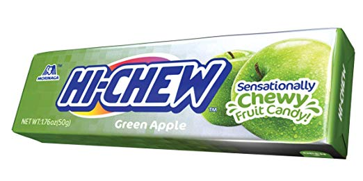 HI-CHEW GREEN APPLE TILTED