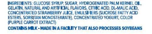 HI-CHEW STRAWBERRY INGREDIENTS