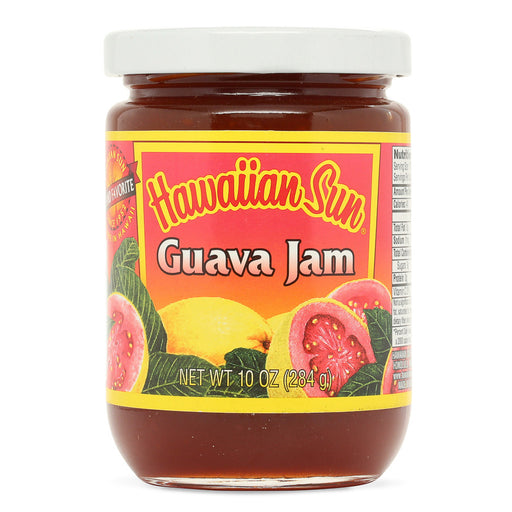 Hawaiian-sun-guava-jam-10-oz-bottle-front