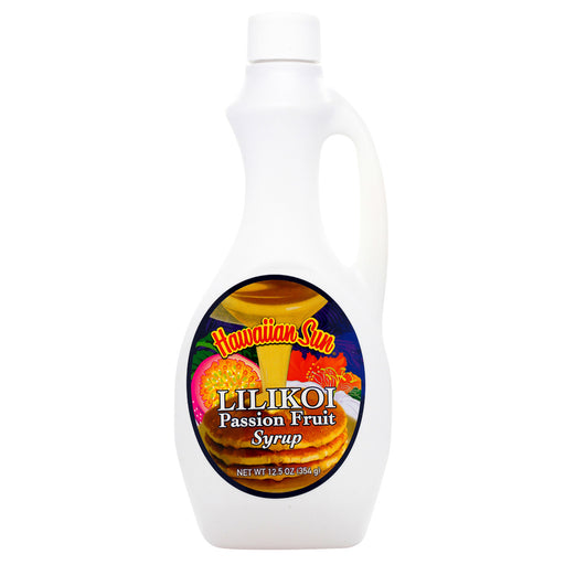 Hawaiian Sun Lilikoi Passion Fruit Syrup - 12.5 oz or 6 pk