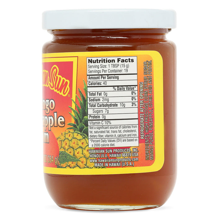Hawaiian-sun-mango-pineapple-jam-10-oz-side